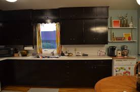 Oil Rubbed Bronze Kitchen Cabinet Pulls Stain Cabinets Using Java Gel Stain Rixen It Up