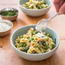 spring vegetable pasta america u0027s test kitchen