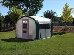 backyards wonderful cross country attached greenhouse kit 43