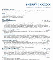 Quality Assurance Sample Resume by Best Quality Assurance Resume Example Livecareer