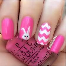 33 cute pink nail designs you must see bunny nails bunny and