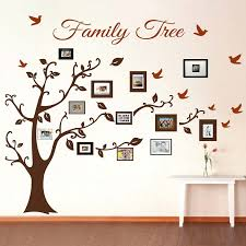 wall designs picture frame family tree wall art tree wall art tree decals