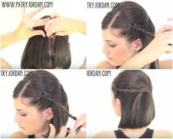 easy hairstyles for short hair step by step hairstyle hits pictures