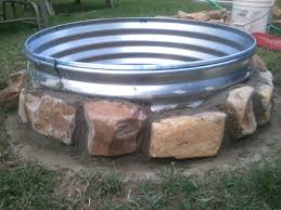 Fire Pit Glass Stones by Huge Fire Pit U2013 Anewleaf