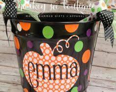 personalized halloween bucket custom kids halloween bag trick