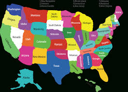 United States Map Outline by Fifty States Map Printable Map Of Usa