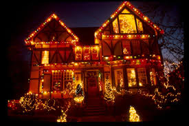 Home Outside Decoration Decorating Attractive Christmas Outdoor Inspiring Decoration