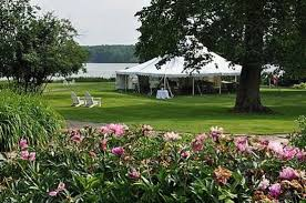 All Island Landscape by Tented Wedding On Main Lawn All Island Exclusive Picture Of