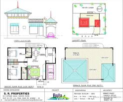 house with floor plans and elevations bungalow house floor plan and elevation nice home zone