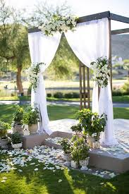 wedding altars best 25 outdoor wedding altars ideas on outdoor
