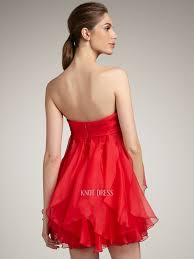 simple graduation dresses simple a line strapless ruffles overlay skirt