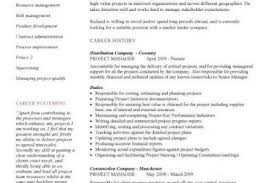 Construction Project Manager Resume Samples by Technical Project Manager Resume Our 1 Top Pick For Technical
