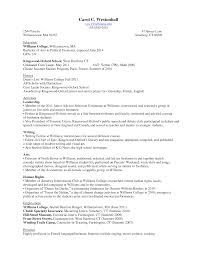 example of resume for college student marvellous college student