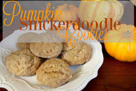 pumpkin snickerdoodle cookies galpal linkup easy fall