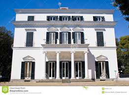 facade neoclassical villa stock photo image facade neoclassical villa