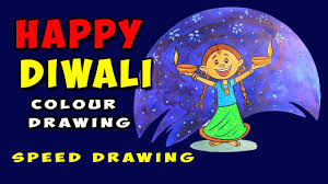 how to draw a diwali colour drawing 2017 drawing for kids drawing