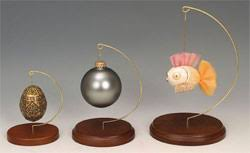 ornament tree display stands hangers pocket domes