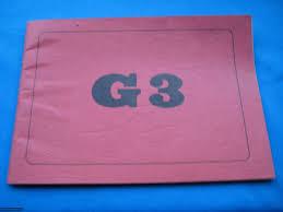 hk original g3 manual circa 1970