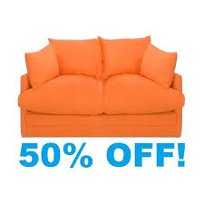 Shabby Chic Sofa Bed by Orange Sofa Beds Furniture For Living