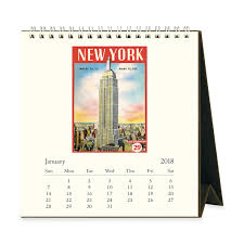 Vintage Desk Pad 2018 New York Vintage Desk Calendar Moma Design Store