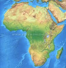 Lagos Africa Map Map Of Africa With Facts Statistics And History Africa Map Puzzle