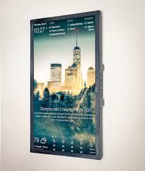 wall display dakboard a customizable display for your photos calendar news