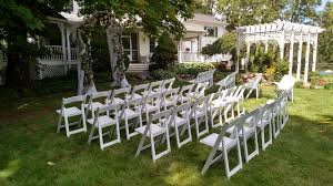 white wedding chairs chair rental b n t tents inc