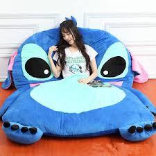 giant lilo u0026 stitch plush tatami bed single beanbag cartoon big