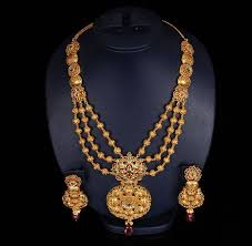 fashion long gold necklace images Gold necklaces for women some varieties jpg
