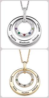 s day necklace with birthstone charms s day necklaces 2017 best 15 personalized necklaces