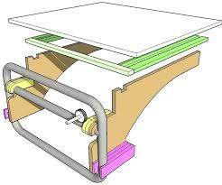 dewalt table saw dw746 outfeed table for dewalt table saw for 10 includes plans dewalt