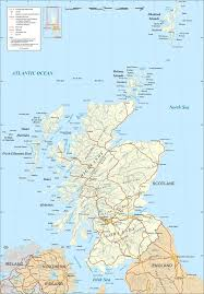 Travel Map Of Europe by Scotland Map Scotland Travel Map Scotland City Map Scotland