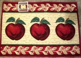 Apple Kitchen Rug Sets Apple Kitchen Rugs Rug Walmart Large Themed Hixathens