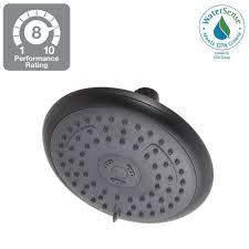 delta bronze showerheads u0026 shower faucets bathroom faucets