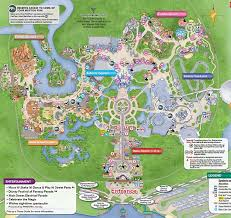 parks map disney maps and maps of disney theme parks resort maps