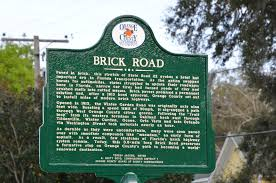 marking a historic path on brick road west orange times