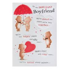 hallmark birthday card for boyfriend lots of medium