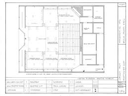 retail space floor plan technical drafting concept retail layout on behance