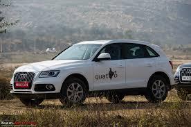 audi q5 bhp 2013 audi q5 facelift launch report drive team bhp