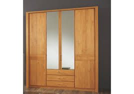 Erle Schlafzimmerschrank Kleiderschrank Erle Teilmassiv Woody 138 00052 Woody Möbel