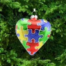 glass autism awareness ornament my etsy store