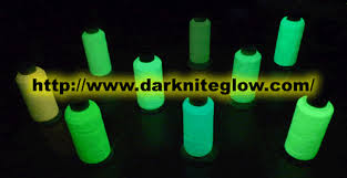 glow in the dark thread and fibre