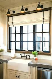 kitchen window treatment ideas pictures modern kitchen window treatments fallbreak co