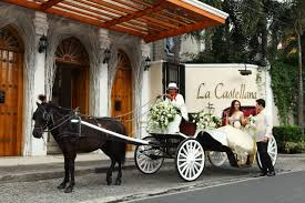philippine kalesa bridal carriage philippines wedding event rentals in metro