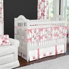 Migi Blossom Crib Bedding Cherry Blossom Baby Bedding Modern Bedding Bed Linen