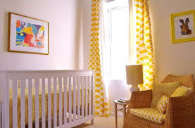 Yellow Curtains Nursery Lemon Yellow Nursery Curtains Memsaheb Net