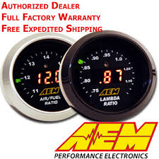 wide band aem 30 4110 afr 52mm wideband o2 uego controller air fuel