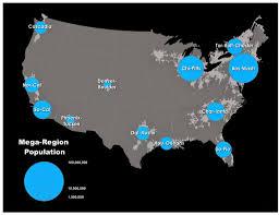 Luoyang China Map by Megaregions Usa Europe And China Nextbigfuture Com