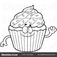 cupcake clipart 1211711 illustration by cory thoman