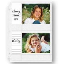 Photo Album Refill Pages 4x6 Photo Album Pages U2013 Pocket Pages U2013 Photo Album Sheets Exposures